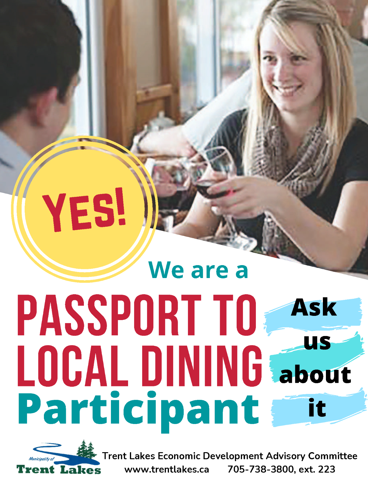 Passport to Local Dining poster